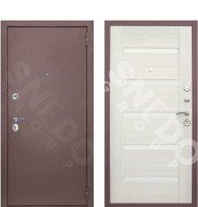 Дверь Снедо Патриот царга белая лиственница фото