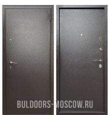 Дверь Бульдорс Econom Steel Букле шоколад м/м фото