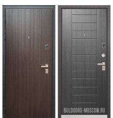 Дверь Бульдорс PREMIUM-90 Ларче темный 9Р-131/Дуб серый 9P-137