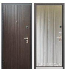 Дверь Бульдорс PREMIUM-90 Ларче темный 9Р-131/Ларче бьянко 9P-131