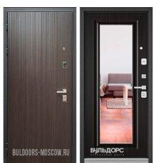 Дверь Бульдорс PREMIUM-90 Ларче темный 9Р-131/Ларче темный 9P-140, mirror