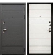 Дверь Дива МД-39 (Графит софт / Белый софт)
