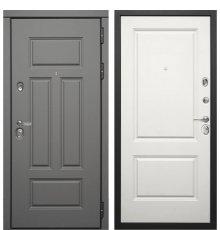 Дверь Дива МД-47 (Ясень графит / Белый матовый)