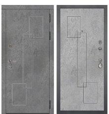 Дверь Дива МД-48 М-3 (Бетон Темный / Бетон Светлый)