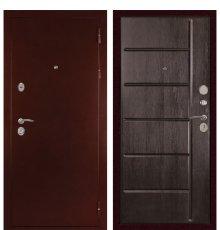 Дверь С-503 (Антик медь / Венге тиснёный)