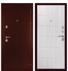 Дверь С-503 (Антик медный / Сандал белый) фото
