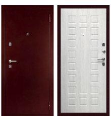 Дверь С-504 (Антик медный / Дуб белёный) фото