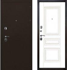 Дверь Ратибор Троя 3К Белый Матовый фото