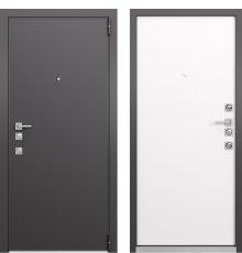 Дверь Mastino Forte Конструктор MS-100 Реалвуд графит горизонт/MS-100 Реалвуд молочный горизонт фото
