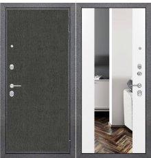 Дверь ZMD Лофт графит Зеркало XXL Сноу фото