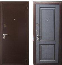 Дверь Евро 2 Б2 венге темный фото
