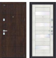 Дверь входная металлическая Porta M 4.П23 Almon 28 / Bianco Veralinga