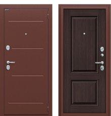 Дверь входная металлическая Оптим Стиль Антик Медь / Wenge Veralinga