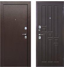 Дверь Цитадель Гарда 8 мм Венге Внутреннее открывание фото