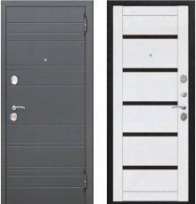 Дверь Цитодель Чарлстон 10,5 см Белый глянец