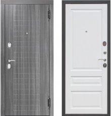 Дверь Цитодель Гарда 10,5 см Грей/Белый матовый