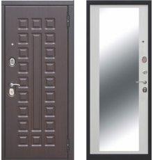 Дверь Цитодель Монарх зеркало белый ясень