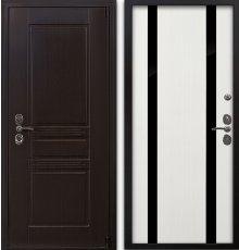 Дверь Воевода Твердыня В-2 Белое дерево