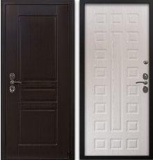 Дверь Воевода Твердыня В-3 Дуб беленый