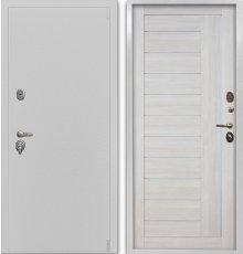Дверь Воевода Сотник-1Б В-10 Самшит белый