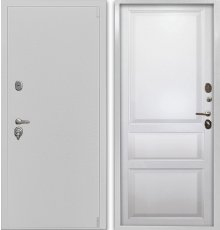 Дверь Воевода Сотник-1Б В-5 Эмаль белая