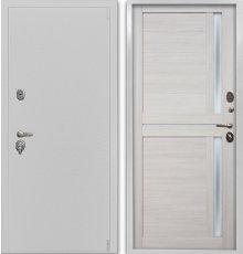 Дверь Воевода Сотник-1Б В-8 Самшит белый