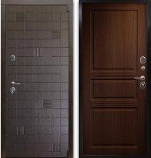 Дверь Воевода Сотник-3 В-4 Орех бренди