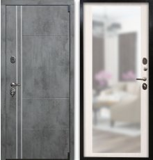 Дверь Воевода Сотник-4 ТБ В-1 Сандал белый