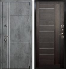 Дверь Воевода Сотник-4 ТБ В-10 Венге