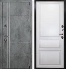 Дверь Воевода Сотник-4 ТБ В-5 Эмаль белая