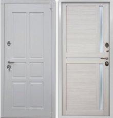 Дверь Воевода Сотник-5  В-8 Самшит белый