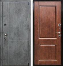 Дверь Воевода Сотник-4ТБ ШП-2 Дуб темный