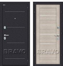 Дверь Bravo Техно Cappuccino Veralinga/White Pearl