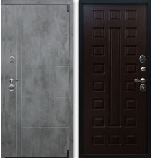 Дверь Воевода Лучник-4Б В-3 Венге