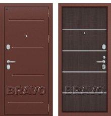 Дверь Bravo Т2-204 Wenge Crosscut