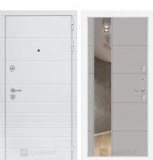 Дверь Лабиринт Трендо с Зеркалом 19 - Грей софт