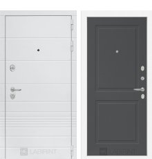 Дверь Лабиринт Трендо 11 - Графит софт