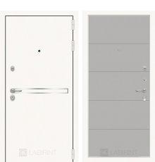 Дверь Лабиринт Лайн WHITE 13 - Грей софт фото