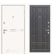 Дверь Лабиринт Лайн WHITE 12 - Венге фото