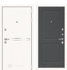 Дверь Лабиринт Лайн WHITE 11 - Графит софт