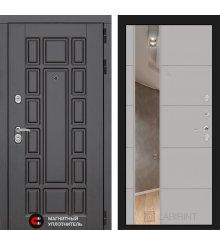 Дверь Лабиринт Нью-Йорк с Зеркалом 19 - Грей софт