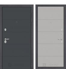 Дверь Лабиринт ART графит 13 - Грей софт