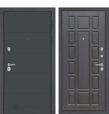 Дверь Лабиринт ART графит 12 - Венге