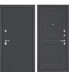 Дверь Лабиринт ART графит 11 - Графит софт