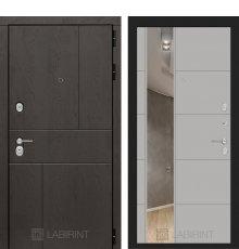 Дверь Лабиринт URBAN с Зеркалом 19 - Грей софт