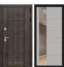 Дверь Лабиринт SCANDI с Зеркалом 19 - Грей софт