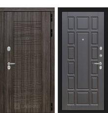 Дверь Лабиринт SCANDI Дарк грей 12 - Венге