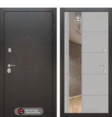 Дверь Лабиринт SILVER с Зеркалом 19 - Грей софт