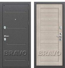 Дверь Bravo Т2-221 (95 мм) Cappuccino Veralinga