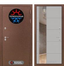 Дверь Лабиринт Термо Магнит с Зеркалом 19 - Грей софт
